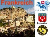 Präsentation zu Frankreich (Rocamadour) - bei Swiss-Cave-Diving