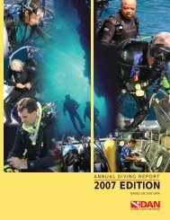 2007 EDITION - Divers Alert Network