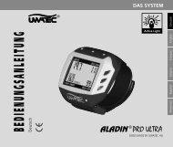 Uwatec Aladin Pro Ultra - Bedienungsanleitung - Dive-Links