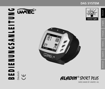 Uwatec Aladin Sport Plus - Bedienungsanleitung - Dive-Links