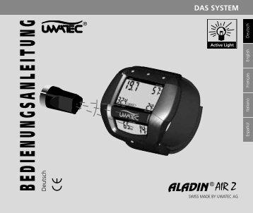 Uwatec Aladin Air Z - Bedienungsanleitung - Dive-Links