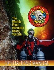 Operations Manual armadillo - Advanced Diver Magazine