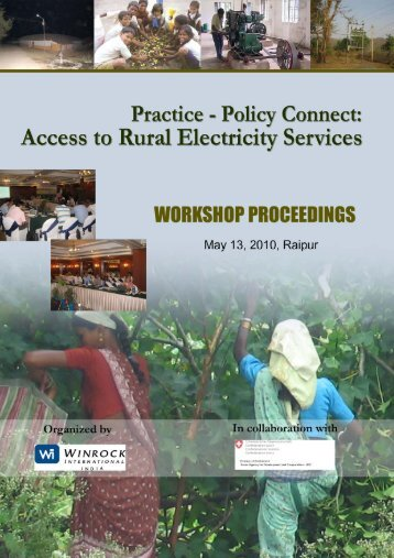 Practice - Policy Connect : Access to Rural Electricity Services