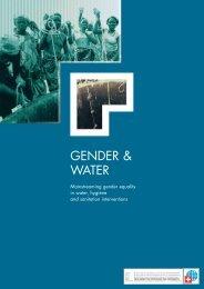 GENDER & WATER - Deza - admin.ch