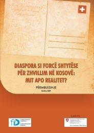 DIASPORA SI FORCË SHTYTËSE PËR ZHVILLIM NË KOSOVË: MIT ...