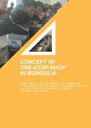 Concept of One-Stop-Shop