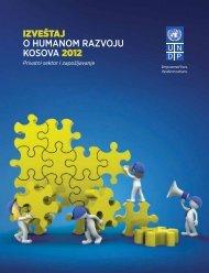 Izveštaj o humanom razvoju na Kosovu za 2012.