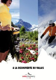 Package Valais a choix - Swiss-Discovery