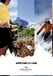 (Sortie Hiver entreprise 1\3402 jours) - Swiss-Discovery