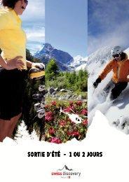 (Sortie Et\351 entreprise 1 ou 2 jours) - Swiss-Discovery
