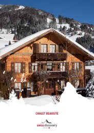 CHALET Beausite - Swiss-Discovery