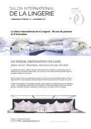 UN FORUM, DESTINATION ICE LAND - Swiss Fashion Stores
