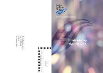 Umdasch-Tag: «Marke ICH» - Swiss Fashion Stores