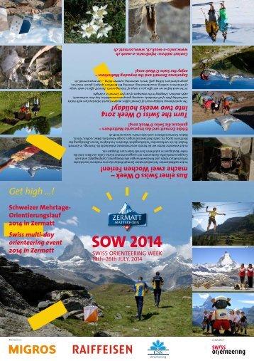 SOW 2014 - Swiss O Week
