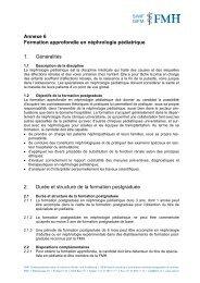 Néphrologie - Société Suisse de Pédiatrie