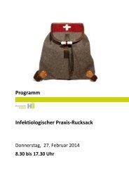 Programm Infektiologischer Praxis-Rucksack