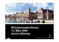 Bilanzpressekonferenz 13. März 2008 Zürich ... - Swiss Prime Site