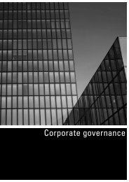 Information on Corporate Governance, extract of ... - Swiss Prime Site