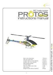 Protos Manual 450 - Copia.indd - Swiss RC Helistuff