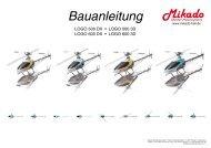 Bauanleitung - Swiss RC Helistuff