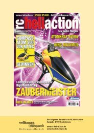 Der folgende Bericht ist in RC-Heli-Action ... - Compass Model