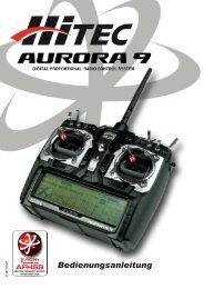 Anleitung Aurora9 - Hitec