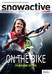 2012 Mai : « On the bike : Fabienne Suter » (1.3 MB) - Swiss-Ski
