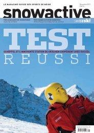 2012 Décembre : « Test réussi » (2.0 MB) - Swiss-Ski