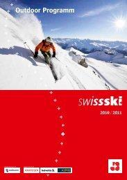Outdoor Programm - Swiss-Ski