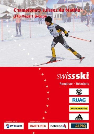 Classement - Swiss-Ski