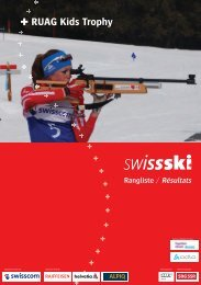 RUAG Kids Trophy - Swiss-Ski