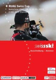 Notschrei (De), 19. & 20.01.2013 (Inkl. U16 Standard) - Swiss-Ski