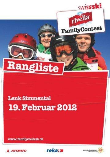 Rangliste (276 KB) - Swiss-Ski