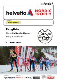 Rangliste (522 KB) - Swiss-Ski