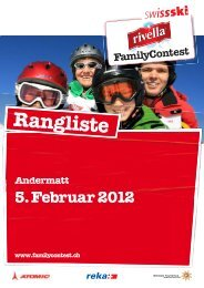 Rangliste (944 KB) - Swiss-Ski