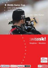 (inkl. U16 Standard) 19.01.2013, Notschrei LG Lausen ... - Swiss-Ski