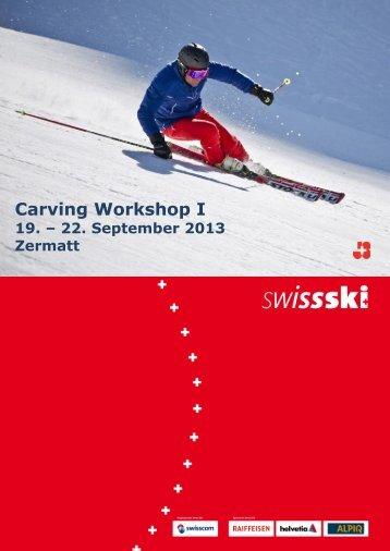 Carving Workshop I - Swiss-Ski