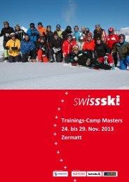 Masters Trainings-Camp 24.-25. Nov 2013 - Swiss-Ski