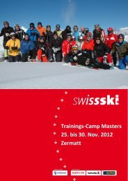 Masters Camp Zermatt 2012 - Swiss-Ski