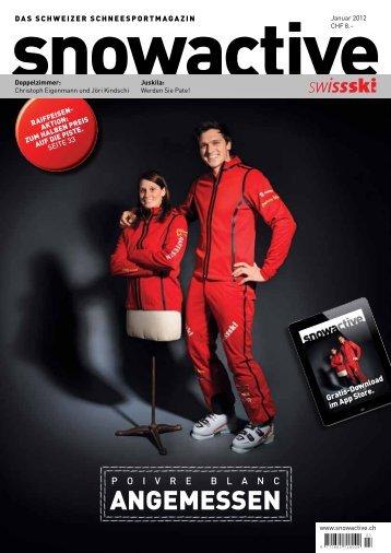 2012 Januar: Â«Angemessen - Swiss-Ski