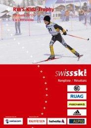 13 mars 2010 La Lécherette - Swiss-Ski