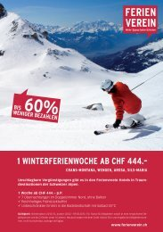 Die Angebote im Überblick (1.9 MB) - Swiss-Ski