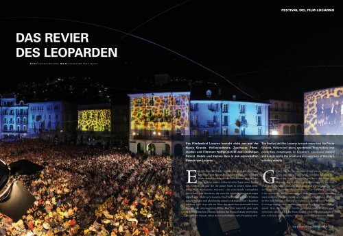 DAS REVIER DES LEOPARDEN - Swiss