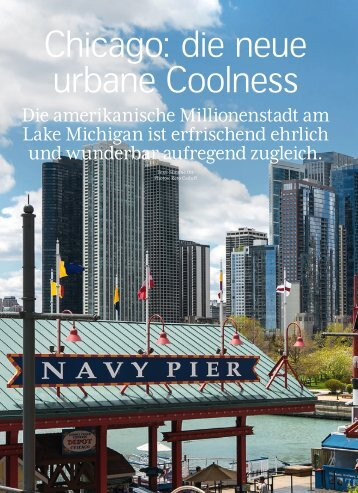 Chicago: die neue urbane Coolness - Swiss