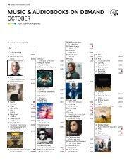 MUSIC & aUdIobookS on deMand - Swiss