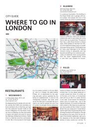 WHERE TO GO IN LONDON _ - Swiss