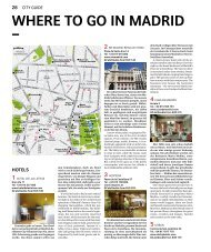 wHERE TO GO in MADRiD – - Swiss