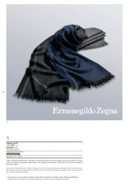 Zegna scarf CHF 337.– or 69,000 miles - Swiss