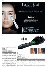 Talika Cream Booster CHF 109.– or 24,000 miles Braun Satin Hair ...
