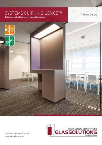 De SYSTEMS SILENCE DOOR 7042 - Saint-Gobain Glass Solutions